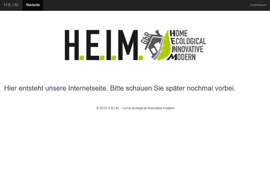 H.E.I.M. - Home, Ecological, Innovative, Modern